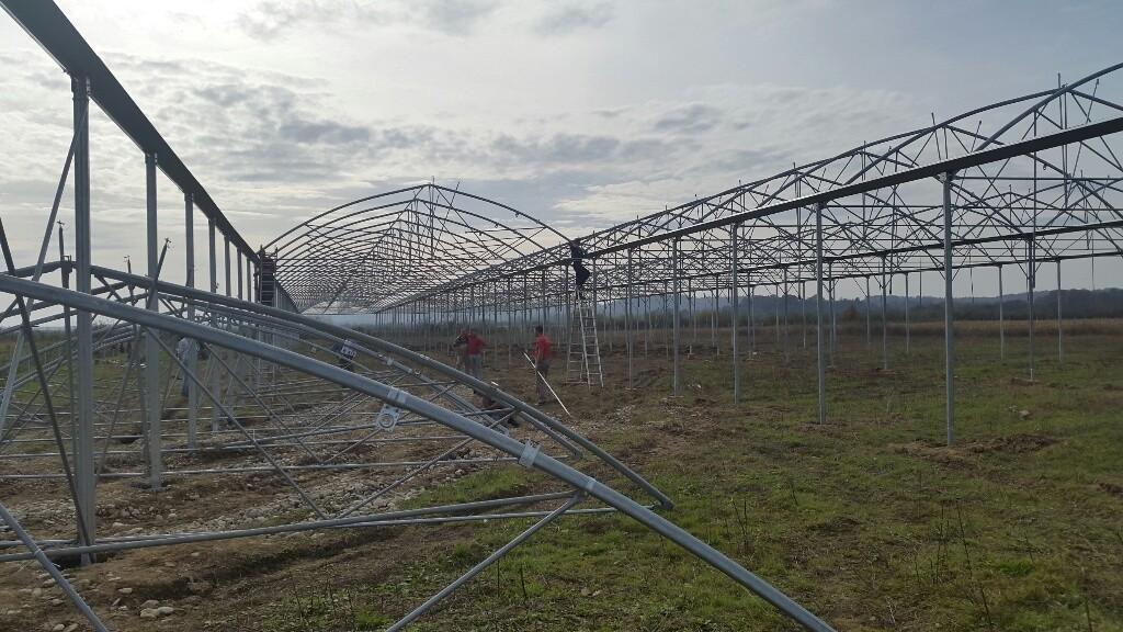postavljanje ramske konstrukcije